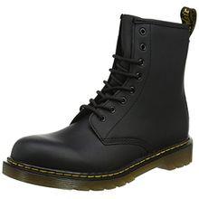 Dr. Martens Unisex-Kinder 1460 Y Klassische Stiefel, Schwarz (Black 001), 38 EU