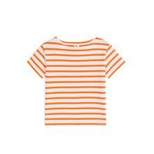 Striped T-shirt - Orange