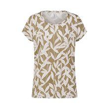 Soyaconcept Shirt SC-FELICITY AO T-Shirts oliv Damen