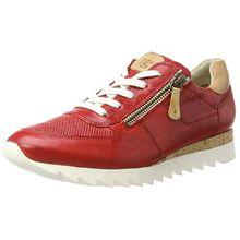 Paul Green Damen 4485021 Sneaker, Rot (Red), 38 EU (7.5US)