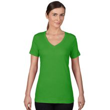 Anvil T-Shirts - Sheer V-Ausschnitt  - Green Apple