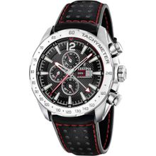 FESTINA Uhr 'F20440/4' rot / schwarz / silber / weiß