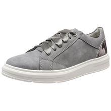 s.Oliver Damen 23627 Sneaker, Grau (Graphite Comb.), 39 EU