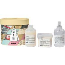 Davines Pflege LOVE Curl Geschenkset Love Curl Shampoo 250 ml + Love Curl Conditioner 250 ml + Love Curl Revitalizer 250 ml 1 Stk.