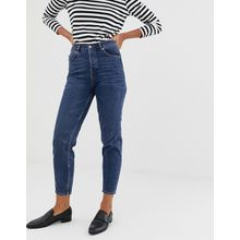 Selected Femme – Mom-Jeans-Navy