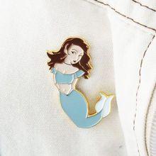 Ansteck-Pin Meerjungfrau