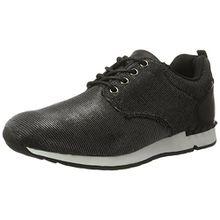 Lico Damen Brilliant Sneakers, Schwarz (Schwarz), 36 EU