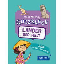 Buch - Mein Meyers Quizblock: Länder der Welt