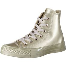 Converse Unisex-Erwachsene Chuck Taylor All Star Hohe Sneaker, Gold (Light Gold/Light Gold), 37.5 EU
