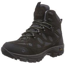 Jack Wolfskin All Terrain 7 Texapore Mid W, Damen Trekking- & Wanderstiefel, Grau (Shadow Black 6101), 40 EU (6.5 Damen UK)