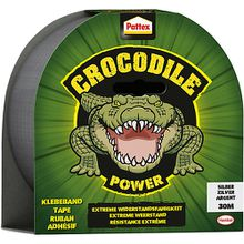 Pattex Crocodile Power-Klebeband silber, 30 m
