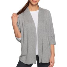 Milano Strickjacke in grau für Damen