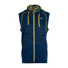 TAO Sportswear Funktionsweste Herren WICKING WESTE Outdoorwesten blau/gelb Herren