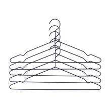 Hang Kleiderbügel im 5er-Set schwarz