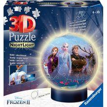 Ravensburger 3D Puzzle-Ball mit Nachtlicht 72 Teile Frozen 2