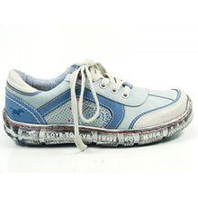 Mustang Damen Halbschuhe Blau, Schuhgröße:EUR 39