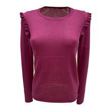 edc by ESPRIT Damen Pullover dark pink in M