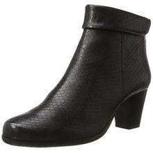 GERRY WEBER Shoes Damen Louanne 06 Stiefel, Schwarz (Schwarz (100)), 37.5 EU
