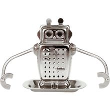"Tee-Ei ""Roboter"" silber"