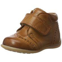 Bisgaard Unisex-Kinder Krabbelschuhe Pantoffeln, Braun (66 Cognac), 20 EU