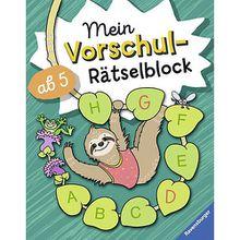 Buch - Mein Vorschul-Rätselblock
