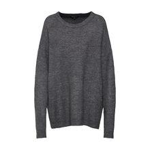 Review Oversizepullover Pullover anthrazit Damen