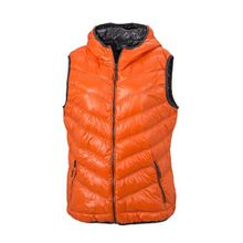 James & Nicholson Damen Jacke Weste Ladies' Vest orange (dark-orange/carbon) XX-Large