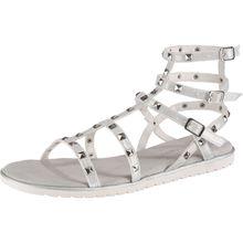 bugatti T-Steg-Sandalen weiß Damen