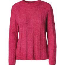 pieces PCTARA LS KNIT - Pullover - weiblich pink Damen