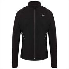 TAO Sportswear Damen Funktionsjacke mit abnehmbaren Ärmeln aus recyceltem Polyamid BEGA Outdoorjacken schwarz Damen