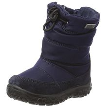 Naturino Baby Jungen Poznurr Klassische Stiefel, Blau (Blau), 24 EU
