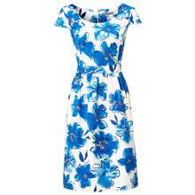 Heine Kleid blau / weiß