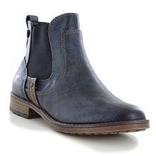 Mustang Damen Chelsea Boots Dunkelblau, Schuhgröße:EUR 38