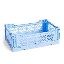 Hay - Colour Crate Korb S, 26,5 x 17 cm, hellblau