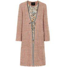Mantel aus Tweed