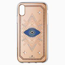 Tarot Eye Smartphone Schutzhülle, iPhone® XR, Rotgold