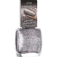 Misslyn Nägel Nagellack Velvet Diamond Nail Polish Nr. 31 Cosmic Dust 10 ml