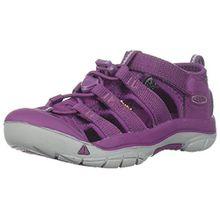 Keen Unisex-Kinder Newport H2 Sandalen Trekking-& Wanderschuhe, Violett (Grape Kiss Grape Kiss), 35 EU