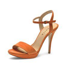 Evita Shoes Sandaletten orange Damen