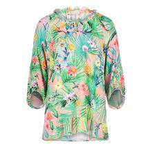 Betty Barclay Tunika-Bluse mit Blumenprint rosa Damen