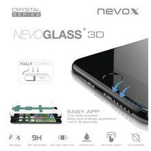 nevox Apple iPhone 8 curved glass mit Easy App »NEVOGLASS 3D«