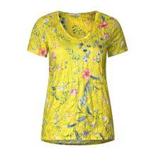 CECIL Shirt gelb / mischfarben