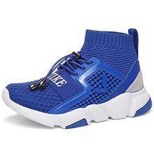Sportschuhe Hallenschuhe Sneaker Jungen Mädchen Kinderschuhe Turnschuhe Schuhe für Unisex-Kinder Schnürer Sportschuhe Sneaker