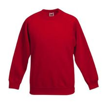 Kinder Sweatshirt - rot - Gr. 128
