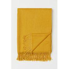 H & M - Plaid aus Jacquardstoff - Yellow - Zuhause