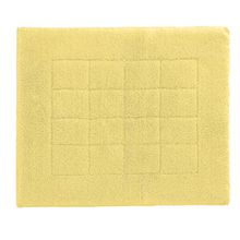 Vossen 1147430130 Exclusive - Badeteppich, 55 x 65 cm, citro
