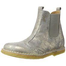 Bisgaard Mädchen Stiefel Chelsea Boots, Grau (410 Grey), 34 EU
