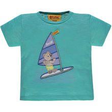Steiff Kurzarmshirt - Windsurfing Teddy