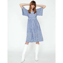 KOTON KOTON Sommerkleid mit Streifenmuster Sommerkleider blau Damen