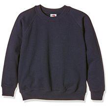 Fruit Of The Loom Pullover für Kinder (9-11) (Dunkelblau)